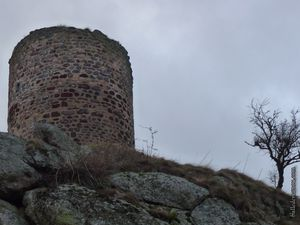 La tour de l'ancien château