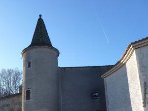 Les toitures vernissées des tours