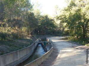 Quelques vues du canal et du chemin