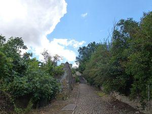 Le lavoir et la voie romaine