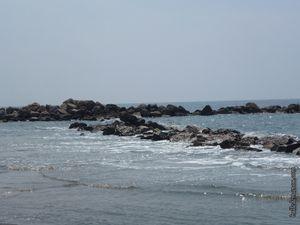 Les épis perpendiculaires à la plage