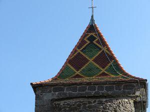 La toiture vernissée en quadrichromie