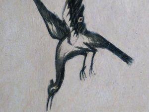 Les oiseaux et...un papillon