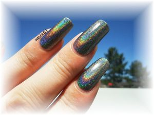 vernis layla 08 flash black holo - cuqpournous