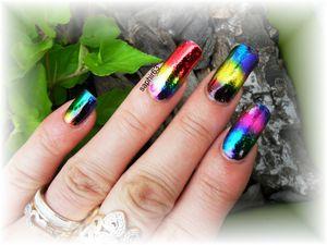 nail art foils coloré - bornprettystore