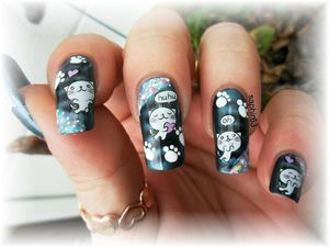 nail art WD K061 - kristal beauté