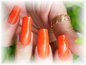 vernis coral néon 606 - beauty by angel