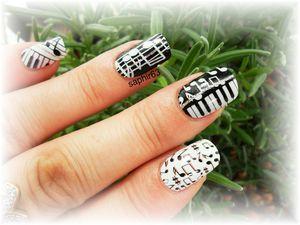 nail patch strass et crème pour les mains - stick and nails