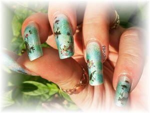 nail art WD G079 - cquepournous