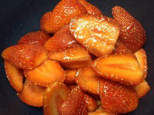 Sorbet fraises/bananes