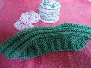 Tenue complète : écharpe, bonnet ...
