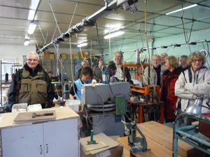 Journée FIAC en Périgord Vert : une occasion de découvrir  en visitant les Ateliers JMG HOUCKE  que la CHAUSSURE EST TOUT UN ART