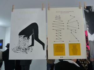 Une centaine d'affiches et estampes sont exposées dans l'atelier de LO-renzo class-artist au jardin d'Hélys