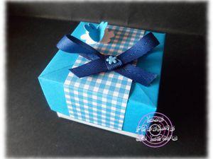Réalisation d'une boîte en papier très simple !