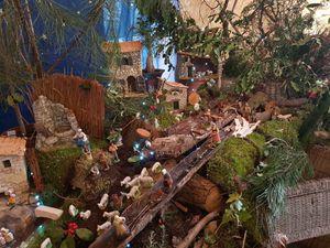 Magnifique crèche provençale au Domaine de Bré à Seiches jusqu'au 9 février