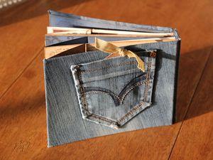 Scrap Album en jean