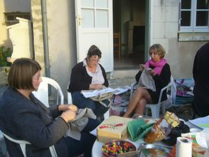 weekend entre amies brodeuses