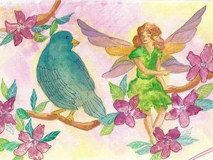 Les fées aiment les oiseaux