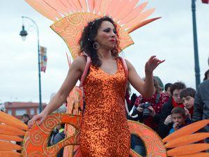 des troupes de samba et des danseuses brésiliennes