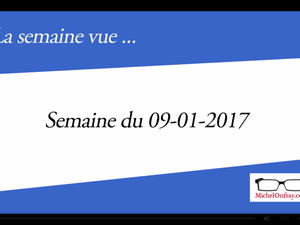 Michel Onfray - La semaine vue - 09.01.2017 - Décadence