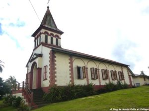 L'église Saint Dominique à Roura (Guyane)