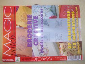 5€ hfdp la revue complète avec patrons non détachés ou 9€ les 2 hfdp