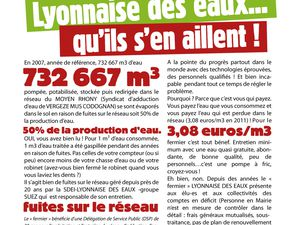 A Vauvert et à Vergèze, on débat sur la gestion publique de l'eau.
