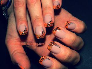 Orange tigré