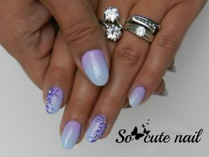CND shellac creekside degradé violet