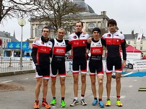 Podium en Grand Prix de duathlon !