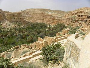 Descente vers l'Oued...