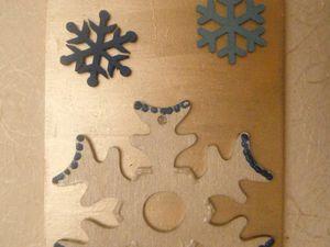 Tableau de Noël et décos