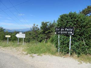 Ensuite c'est l'enchainement des cols de Peyruergue, La Chapelle et col de Perty qui sera le point culminant de la sortie.