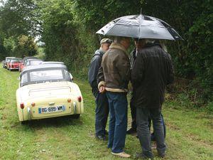 Le ROC aux Champs.....Conciliabule sous un parapluie....