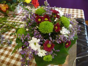Ateliers Art Floral ce dimanche à Plagne (01)