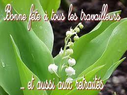 Pour vous, lecteurs du blog, ce bouquet de muguet, cette vidéo, cette série de belles photos, sur une chanson de Céline Dion