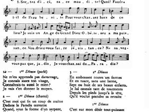 &quot&#x3B;Sortez d'ici, race maudite&quot&#x3B;, Noël provençal de Nicolas Saboly 1614-1675.