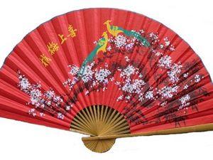 Art du mouvement avec Eventail chinois