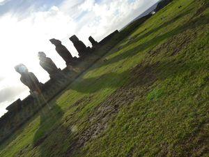 Île de Pâques - Rapa Nui, vacances sans vélo!