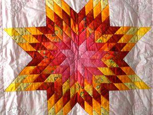étoile pour une star - 100 x 100 en cours de matelassage
