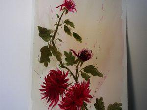 Quelques exemples de peintures calligraphiques