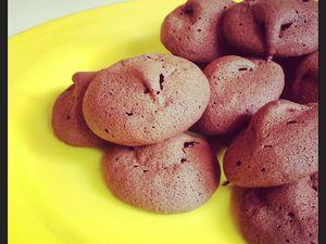 Défi Goûter du mois de Septembre 2013- Petits gateaux Crousti-moelleux au chocolat