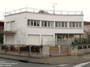 Maison Maillat, avenue Jean-Rieux, Edouard WEILER architecte. Jocelyn LERMÉ/Parcours d'architecture