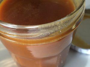 Crème cramel au beurre salé