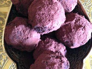 Truffs de dattes et graines de sésames ou dattes et noisettes