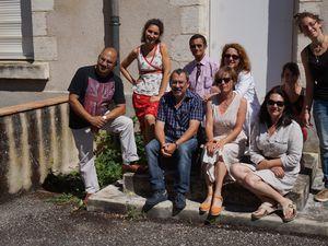 Membres du jury du CONCOURS PHOTO Regards verts sur ma ville + Edith en charge du projet !