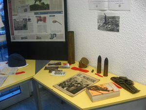 Exposition sur la Grande Guerre 14-18