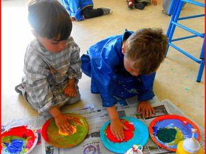 L'art et la main : la performance (2ème groupe)  (TPS et PS)