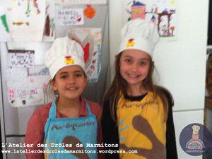 Atelier pâtisserie à domicile avec 2 Drôles de filles