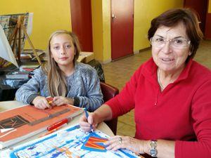 Echanges et rencontre entre les enfants et les seniors : l'intergénérationnel avec l' AMEL 14-10-15